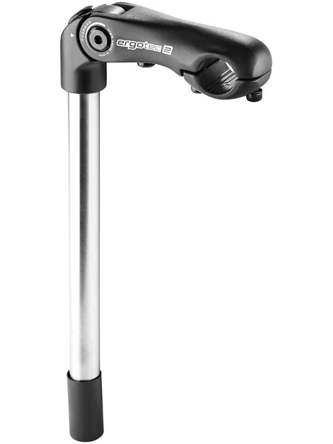 Humpert Kobra Vario Tube Vorbau Ø 22,2mm 300mm schwarz-sand